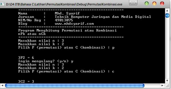 hasil-soa-lprogram-permutasi-dan-kombinasi